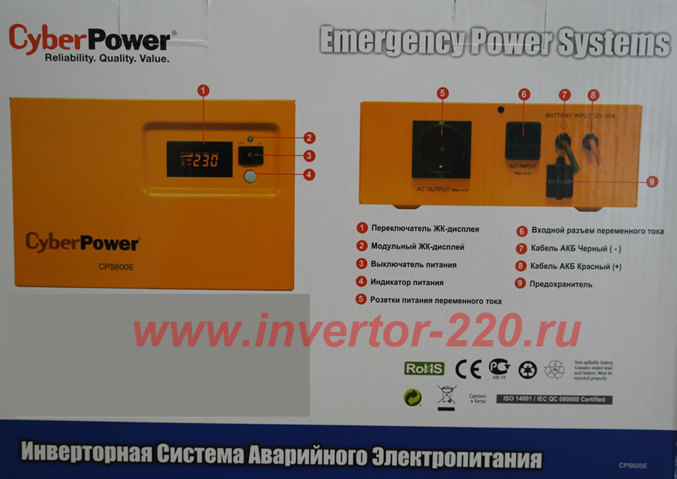 cyberpower cps 600